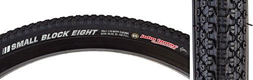 Kenda Tomac Small Block 8 20 x 1 1/8 DTC BMX Tire Wire Bead All Black by Kenda