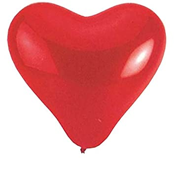 Balón de juego gigante, diseño de corazón, color rojo, 170 cm ...