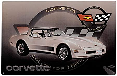 1954 Corvette Vintage Look Reproduction Metal Sign