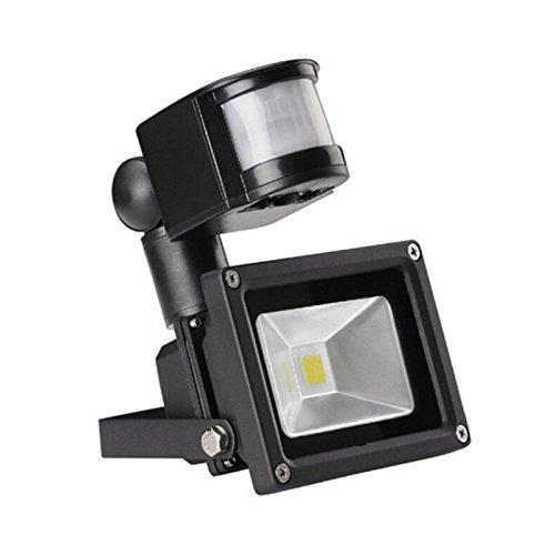 VINGO® 30W LED Fluter Flutlicht Aussen Strahler mit Bewegungsmelder Kaltweiß Scheinwerfer IP65 Scheinwerfer Wandstrahler Außenstrahler Außenleuchten Wandstrahler