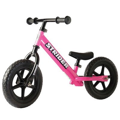 Strider - 12 Classic No-Pedal Balance Bike, Ages 18 Months to 3 Years, -
