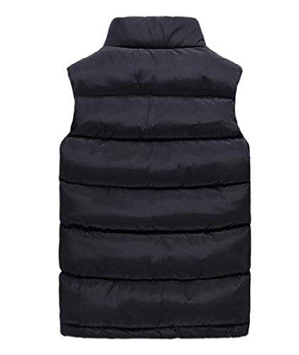 Puffer Outwear Winter Comfy Black Size AngelSpace Mens Jacket Down Vest Thick Plus tyqw8yAxYI