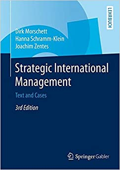 Book Strategic International Management: Text and Cases