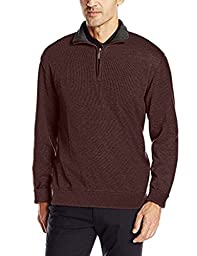 Van Heusen Men\'s Quarter Zip Sweater - (Size - 2XLT)