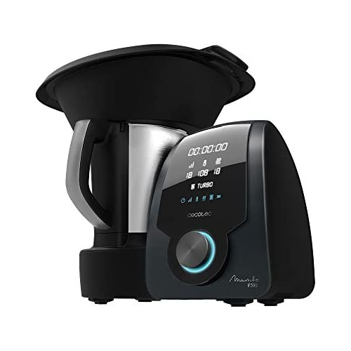chollos oferta descuentos barato Cecotec Robot de Cocina Multifunción Mambo 8590 con 30 Funciones Báscula integrada Jarra de Acero Inoxidable Apta para lavavajillas Capacidad 3 3 litros
