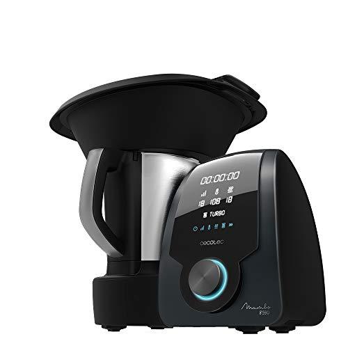 Cecotec Robot de Cocina Multifunción Mambo 8590, Cuchara MamboMix, 30 Funciones, Báscula integrada, Jarra de Acero…