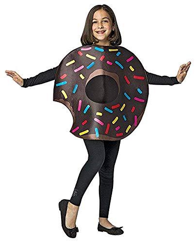 Rasta Imposta Chocolate Donut w/Bite 7-10 ()