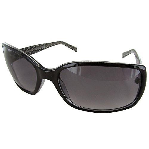 Womens Rectangle Gradient Fashion Sunglasses