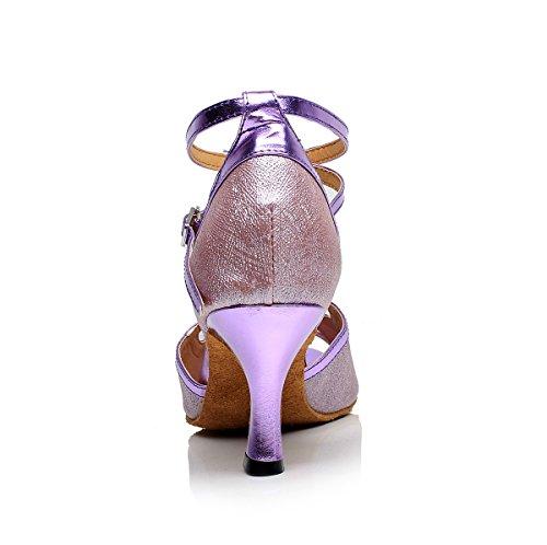 Minitoo 5cm Heel Purple bal Salle de femme 7 rxqTrwgH