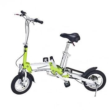 Alta Calidad Rueda de 12 pulgadas plegable Mini Bike Ultra -light Pequeño bicicletas - Black