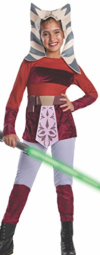Star Wars Clone Wars Child's Ahsoka Costume, Small]()