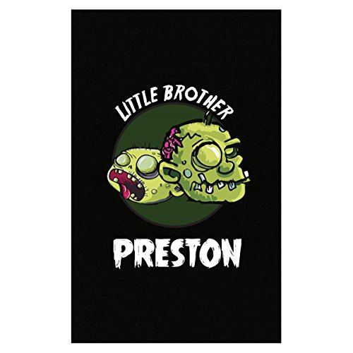 Halloween Costume Preston Little Brother Funny Boys Personalized Gift - Poster -