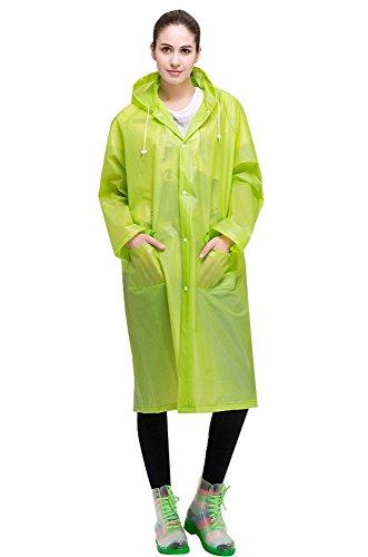 Aircee Lightweight Poncho Hooded Raincoat