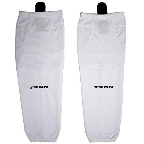 TronX SK100 Dry Fit Ice Hockey Socks (White - 26 Inch)