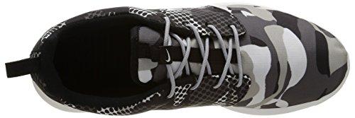 Nike Men Roshe Run Print Smmt White/Blk-drk Gry-wlf Gry EFHJP6