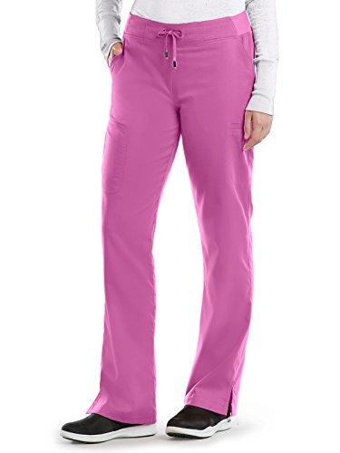 6 Pocket Cargo Pant (Grey's Anatomy 4277 Straight Leg Pant Bloom S)