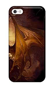 Crystle Marion's Shop Hot 7069564K89206379 Premium Protective Hard Case For Iphone 5/5s- Nice Design - Dragon Heart