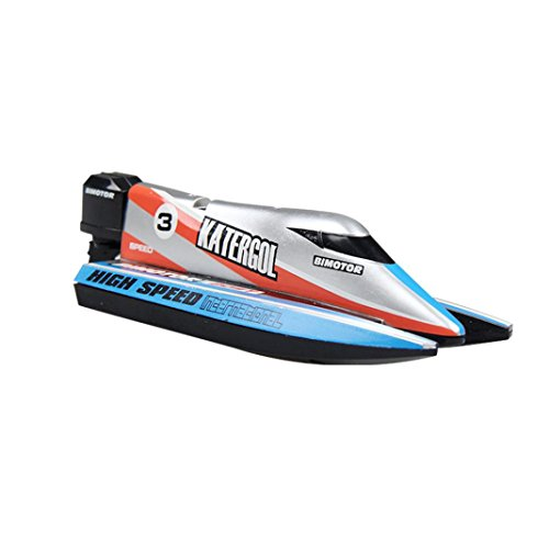Price comparison product image Boofab Remote Control Boat for Pool & Outdoor Use – RC Racing Boat with Remote Control; Force1 High-Speed Series RC Boats for Adults & Kids (A)