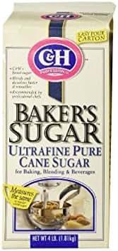 Sugar & Sweetener: C&H Baker's Sugar