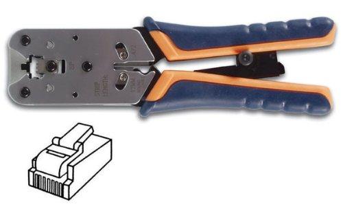 Alicate a crimpar profesional para conector modular 8P8 C (RJ45): Amazon.es: Bricolaje y herramientas