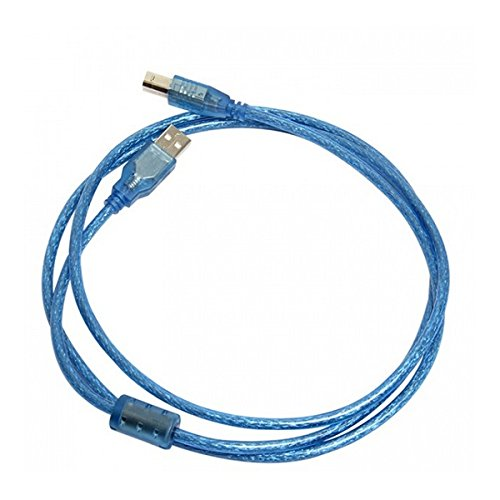 ILS - USB 2.0 Cable A a B Male admite Plug & Play para Impresora ...
