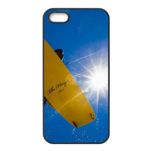 Kitesurfing The Players iPhone 5 5S Handyfall hülle schwarz Handy Fallabdeckung EOKXLLNCD25313