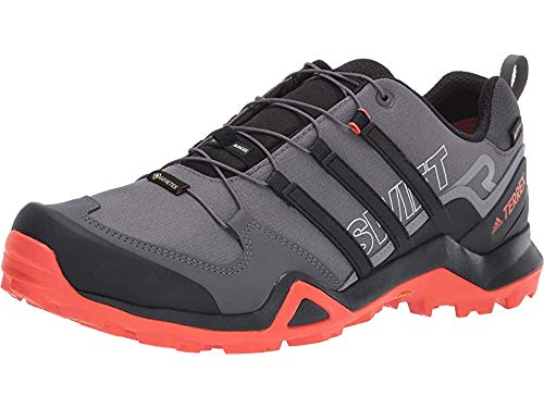 5a93d6ea4d69c adidas outdoor Men's Terrex Swift R2 GTX Grey Five/Black/Active Orange 9.5  D US