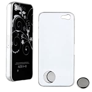 SODIAL(R) Sense Flash LED Light Color Changing Back Case Cover for iPhone 5