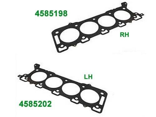 Genuine Land Rover Cylinder Head Gasket Set 4585198 4585202 LR3 Range Rover 06-09 Range Rover Sport 05-09 RH LH