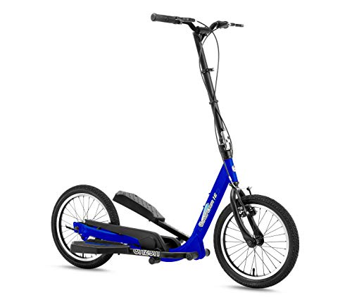 BRIZON New Model - Wingflyer16- Excercise Stepper Scooter (16inch Air Tire) (Blue)