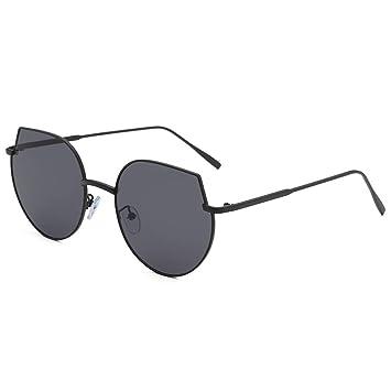 Qiiueen Gafas De Sol para Hombre Y Mujer, Montura Metálica ...