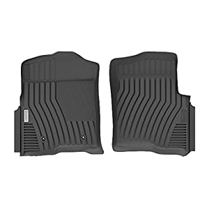 Michelin EdgeLiner 2015 - 2017 Ford F150 Regular Cab Black Custom Front Floor Liners ( Driver + Passenger)