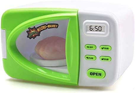 Juguete de juguete para niños con microondas y accesorios de ...