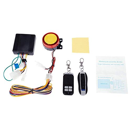 Universal Motorcycle Anti-theft Security Alarm System by Sholer