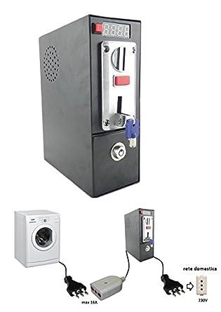 Monedero electrónico para lavadora domestica: Amazon.es ...
