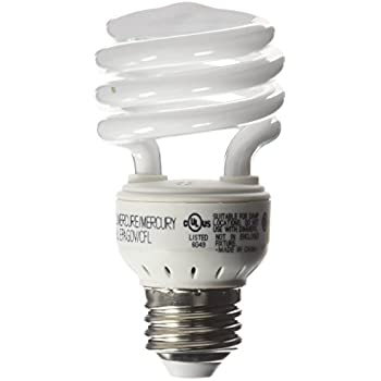 Ge Lighting Spiral 13w Compact Fluorescent T2 Bulb