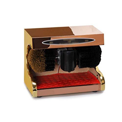 NBVCX Accueil AccessoiresKit de Brosse de Nettoyage pour cireur de Chaussures électrique Entretien et Maintenance des Chaussures en Cuir Kit de Cirage pour Chaussures (Couleur: Gold3) 1