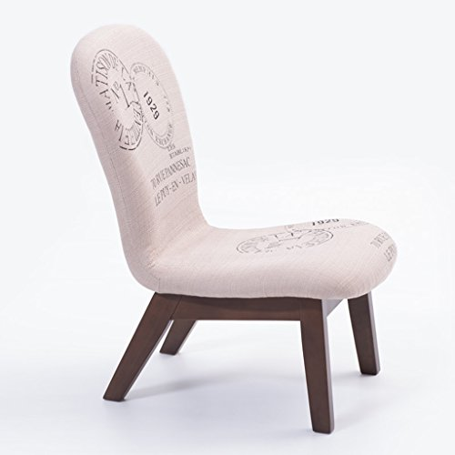 Everyday bar stools NNN- Pattern Leisure Solid Wood Stool Fabric Backrest Chair Simple Try On Shoes Soft Stool Small Sofa Stool Home (Color : B)