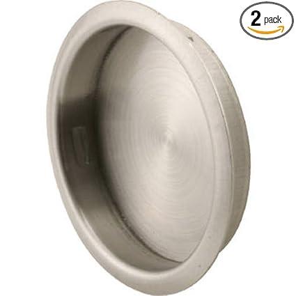 Slide Co N 7203 Round Sliding Door Pull 2pk Stamped Steel With