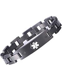 Men's ID Bracelets | Amazon.com