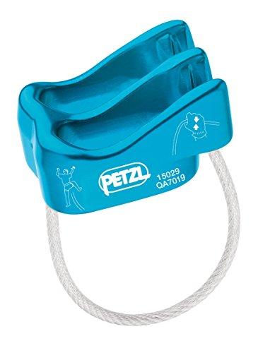 Petzl - Verso, Ultralight Belay/Rappel Device, Blue