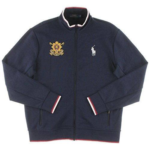 Navy Embroidered Zip - 9