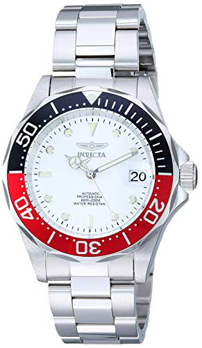 Silver Bracelet Tone Invicta - Invicta Men's 9404 Pro Diver Collection Automatic Silver-Tone Watch