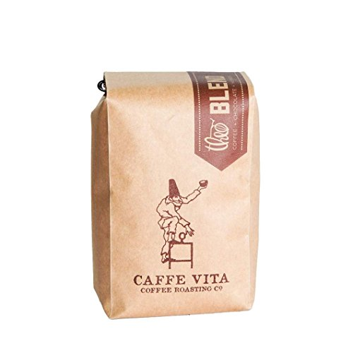Caffe Vita Theo Combination, Fair Trade, Whole Bean Coffee (Medium Roast), 12 oz.
