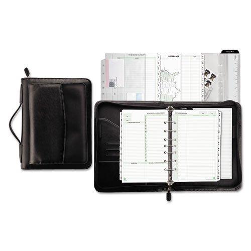 Day-Timer Briefcase Starter Set, Undated, 7 Ring, Desk Size, 5-1/2 x 8-1/2