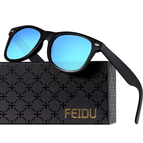 7369175538 Polarized Sunglasses for Men Retro - FEIDU Polarized Retro Sunglasses for  Men FD2149