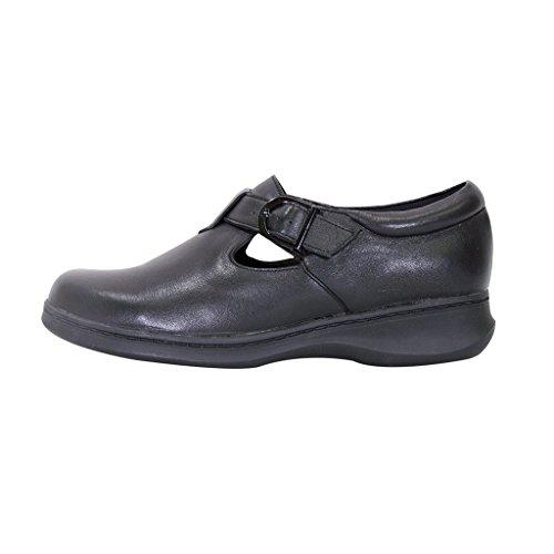 Size 24 Strap Buckle Measurement Adjustable T Black Hour Shoe Mary Guide Comfort Jane Wide Width Women Flora OwnxFOrU4q