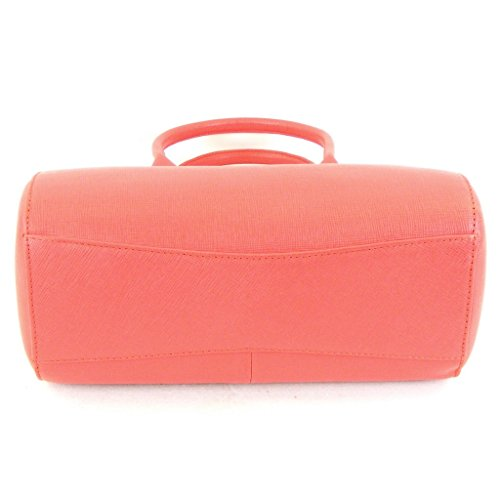 Pavini Damen Tasche Shopper Saffiano Leder pink 12546 Reißverschluss Handyfach