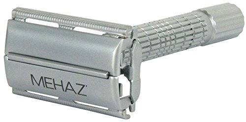 Mehaz Professional Solingen Germany Double Edge Safety Razor Chrome