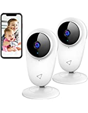 $25 » Victure 1080P FHD Baby Monitor Pet Camera 2.4G Wireless Indoor Home Security Camera with Two-Way Audio Motion Detection Night Vision for Baby/Pet/Nanny/Elderly Compatible with iOS & Android System